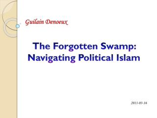 The Forgotten Swamp: Navigating Political Islam