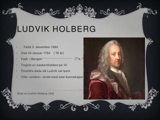 Ludvik Holberg