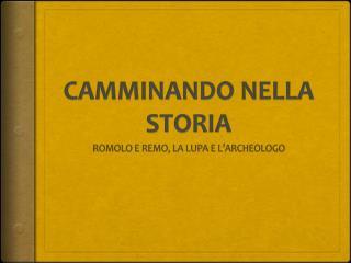 CAMMINANDO NELLA STORIA