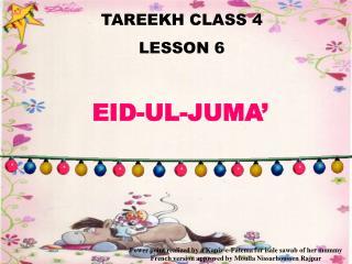 TAREEKH CLASS 4 LE SSON 6