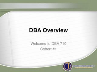 DBA Overview