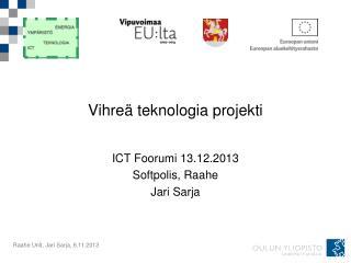 Vihre� teknologia projekti