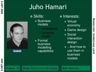 Juho Hamari