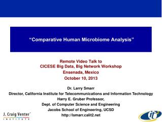"""Comparative Human Microbiome Analysis"""