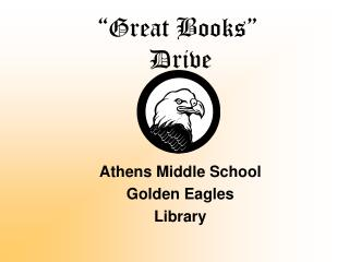 """Great Books""  Drive"