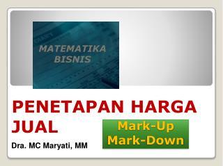 Mark-Up Mark-Down