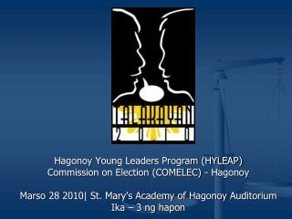 Hagonoy  Young Leaders Program (HYLEAP) Commission on Election (COMELEC) -  Hagonoy