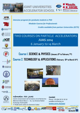 Intensive program for  graduate students &  PhD Modular  Courses for  Professionals