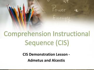 Comprehension Instructional Sequence (CIS)