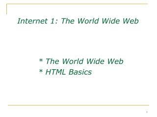 How we access web pages: