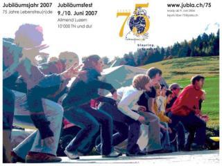 Plakat Jubiläumsjahr