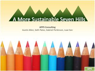 A More  Sustainable Seven Hills