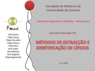 Faculdade de Medicina da Universidade de Coimbra