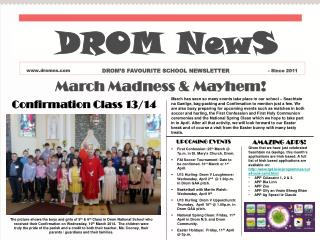 March Madness & Mayhem!