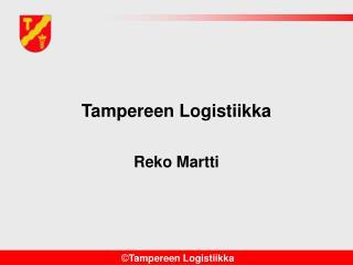 Tampereen Logistiikka