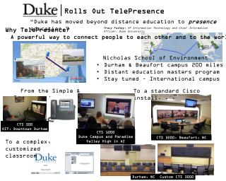 Rolls Out TelePresence