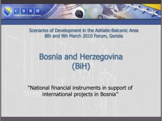 Bosnia and Herzegovina  (BiH)