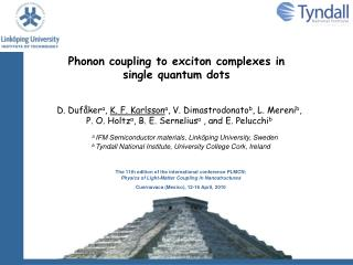 Phonon coupling to exciton complexes in single quantum dots