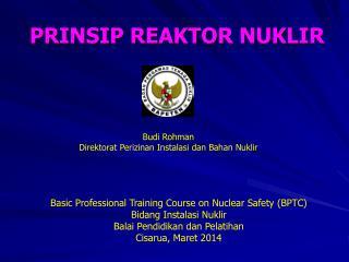 PRINSIP REAKTOR NUKLIR