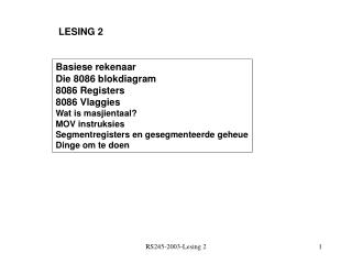 LESING 2