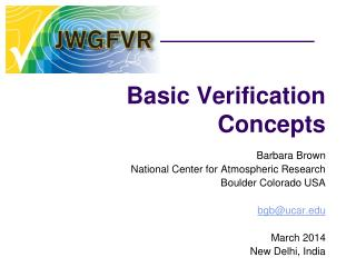 Basic Verification Concepts