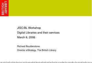 Digital Library Services we need/would like to offer