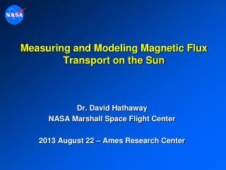 Measuring and Modeling Magnetic Flux Transport on the Sun