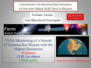Connection of Gamma-Ray Emission  to the mm-Wave VLBI Core in Blazars