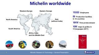 Michelin worldwide