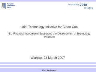 Warsaw, 23 March 2007