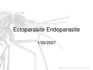 Ectoparasite Endoparasite