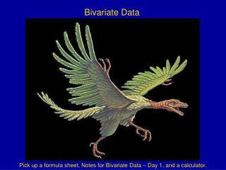 Bivariate Data