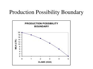 Production Possibility Boundary