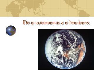 De e-commerce a e-business
