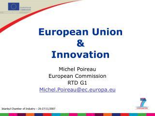 European Union  &  Innovation