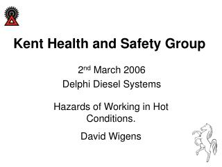 Kent Health and Safety Group