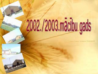 2002./2003.mācību gads