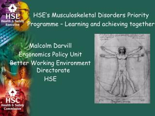 HSE's Musculoskeletal Disorders Priority Programme – Learning and achieving together
