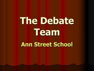 The Debate Team