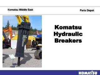 Komatsu Hydraulic Breakers