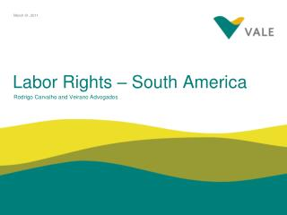 Labor Rights – South America