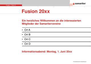 Fusion 20xx