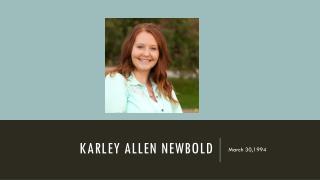Karley Allen  NEwbold