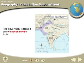 Geography of the Indian Subcontinent
