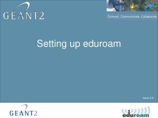 Setting up eduroam