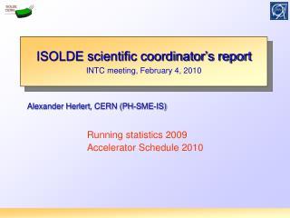 Alexander  Herlert , CERN (PH-SME-IS)