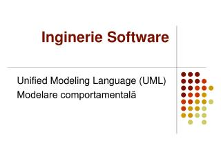 Inginerie Software