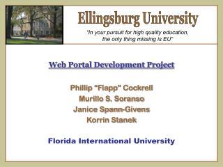 Ellingsburg University