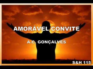 AMORÁVEL CONVITE