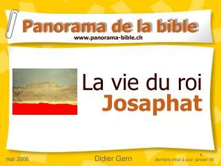 La vie du roi  Josaphat